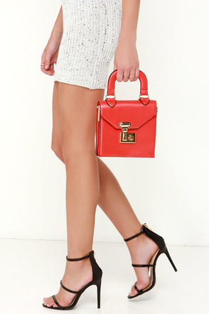 All of My Heart Red Mini Handbag at Lulus.com!
