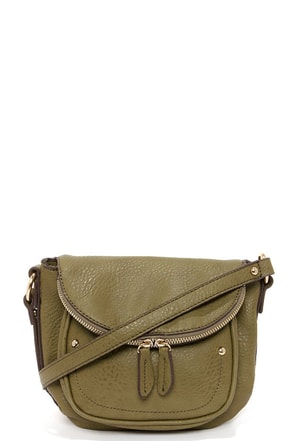 Stashed Away Army Green Purse