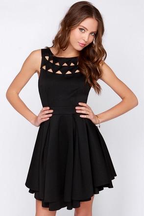 Flirting with Danger Cutout Ivory Dress at Lulus.com!