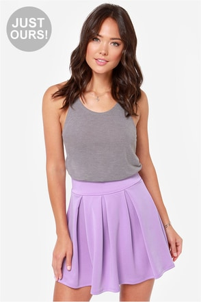 LULUS Exclusive Times Flare Light Pink Skirt
