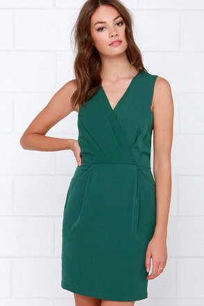 It's a Beautiful Life Forest Green Dress at Lulus.com!