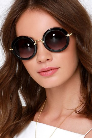 Vanguard Vixen Black Sunglasses at Lulus.com!
