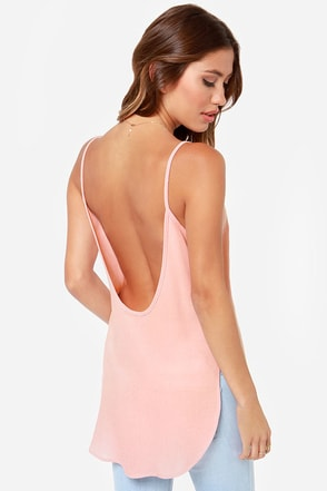 How Dare Chic Blush Tank Top