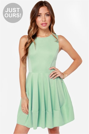 LULUS Exclusive I Oblige Sage Green Dress