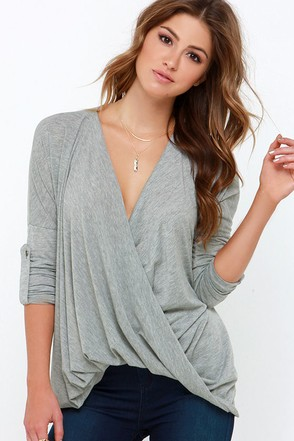This Is Twist Beige Long Sleeve Top at Lulus.com!