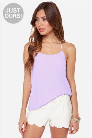 LULUS Exclusive Undivided Attention Magenta Top
