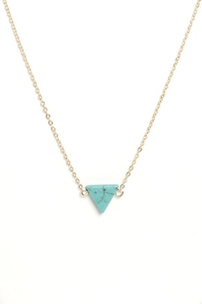Planet of the Apex Turquoise Pendant Necklace