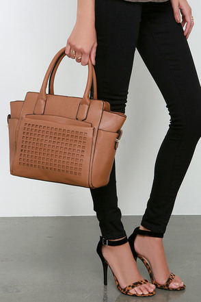 Doting Dame Tan Handbag at Lulus.com!
