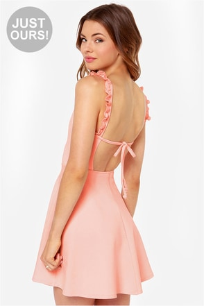 LULUS Exclusive Arm in Arm Pink Dress