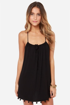 Lucy Love Emma Black Lace Dress