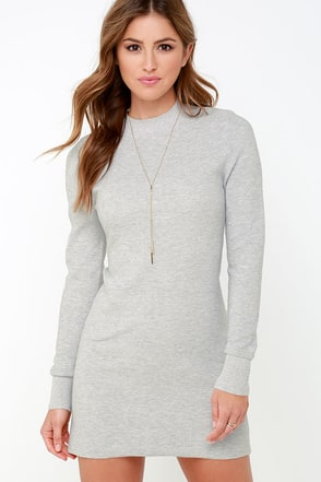 Mink Pink Ultimate Black Long Sleeve Dress at Lulus.com!