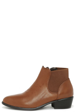 Wander Far Taupe Ankle Boots at Lulus.com!