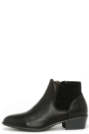 Wander Far Black Ankle Boots at Lulus.com!