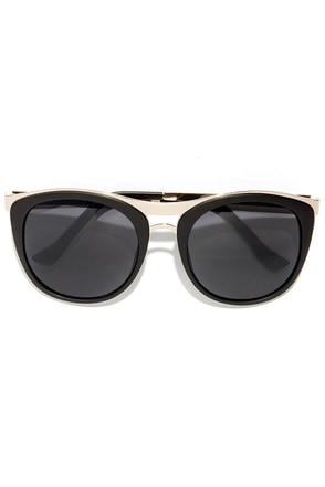 Ryder Gold and Black Sunglasses