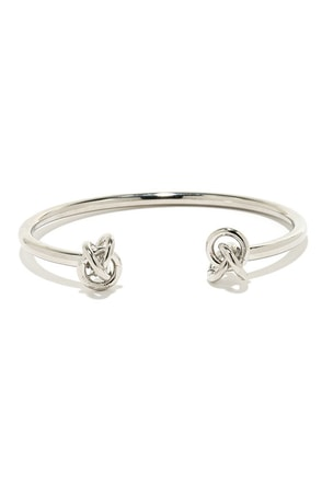Up and Atom Silver Bracelet at Lulus.com!