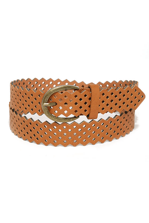 Diamond Daydream Tan Belt at Lulus.com!