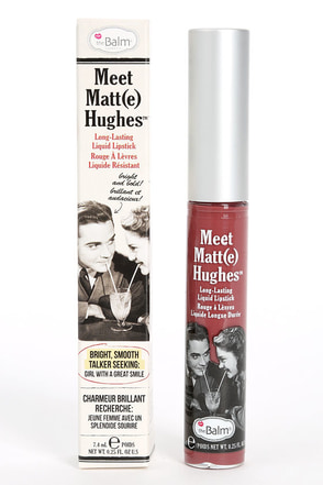 The Balm Meet Matt(e) Hughes Charming Mauve Liquid Lipstick at Lulus.com!