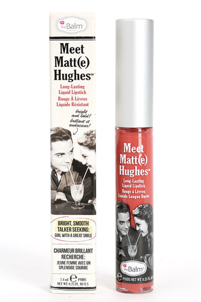 The Balm Meet Matt(e) Hughes Committed Nude Liquid Lipstick at Lulus.com!