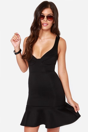 First Date Black Dress