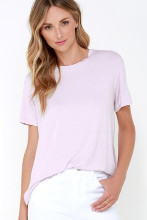 The Fifth Label Sleepwalker Lavender Tee at Lulus.com!