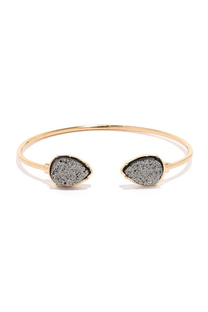 Mica Your Mind Up Gold Bracelet at Lulus.com!