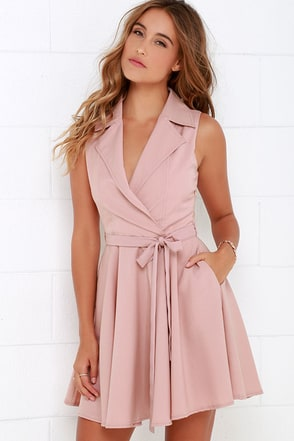 Singing in the Rain Sleeveless Grey Dress at Lulus.com!