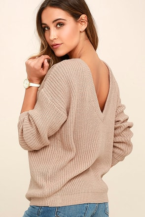 Island Ferry Dark Grey Sweater at Lulus.com!