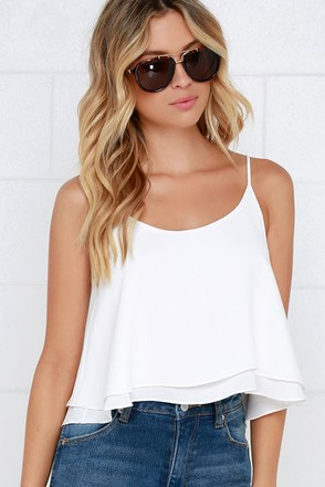 Should've Been Us Blush Crop Top at Lulus.com!