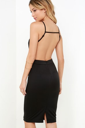 Anything For You Ivory Backless Dress at Lulus.com!