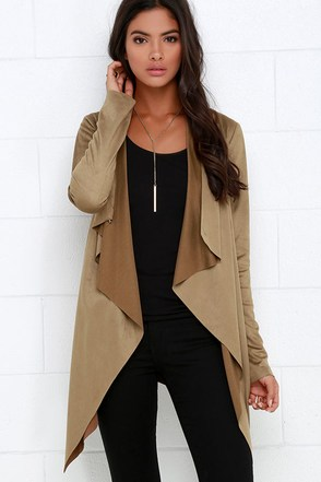 Ranch Road Brown Suede Jacket at Lulus.com!