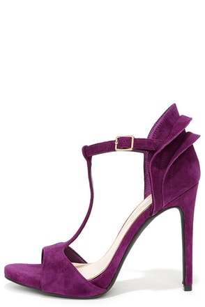 Jessica Simpson Rayanna Military Blue Kid Suede Peep Toe Heels at Lulus.com!