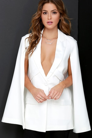 Elliatt Colosseum Ivory Cape at Lulus.com!