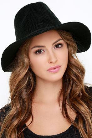 O'Neill Canyon Black Woven Hat at Lulus.com!