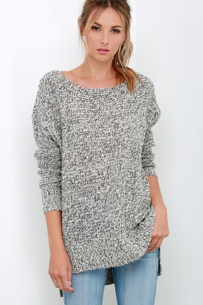 Cherished Embrace Grey Sweater at Lulus.com!