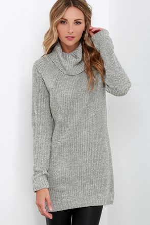 Forward Motion Grey Sweater at Lulus.com!
