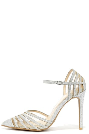 Sheer the Wealth Nude Suede Mesh Pumps at Lulus.com!