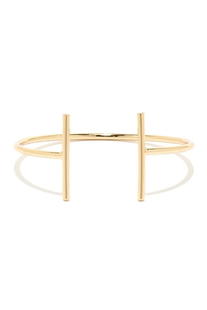 T-eam Work Gold Bracelet at Lulus.com!