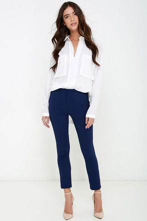 Vixen Vocation Black Trouser Pants at Lulus.com!
