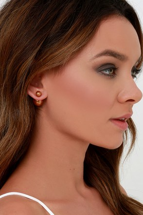 Sphere of Influence Silver Peekaboo Earrings at Lulus.com!