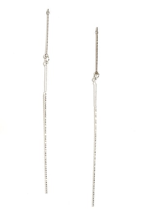Fuel to the Fame Silver Earrings at Lulus.com!