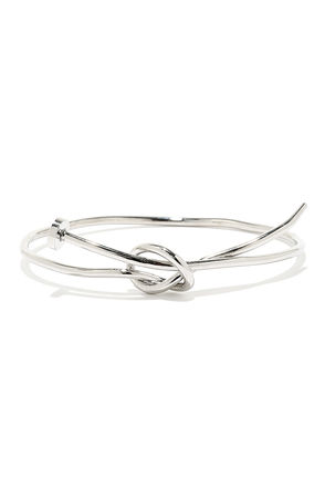 On Pinpoint Silver Nail Bracelet at Lulus.com!
