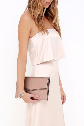 Starlit Sky Bronze Clutch at Lulus.com!