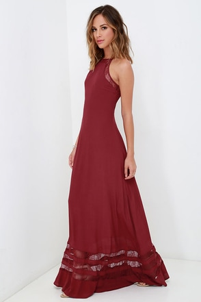 Spellbound and Determined Black Lace Maxi Dress at Lulus.com!