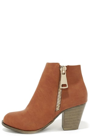 Got What You Want Beige Ankle Boots at Lulus.com!