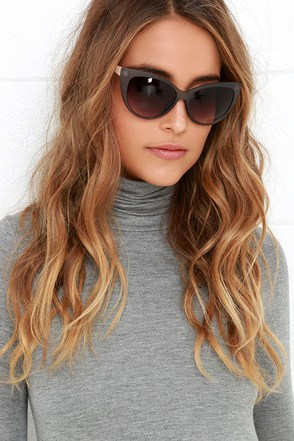 Purr-haps Tortoise Sunglasses at Lulus.com!