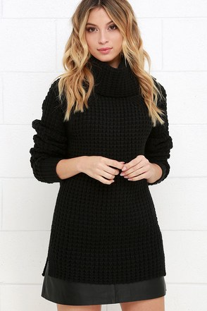 Parker Bridge Black Sweater at Lulus.com!