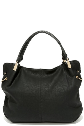 Ocean Cruise Black Handbag at Lulus.com!