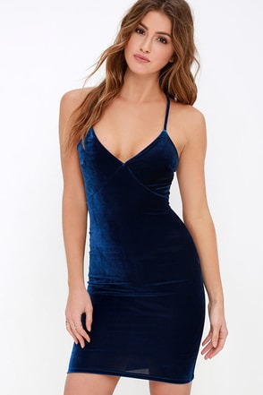 Something Special Black Velvet Dress at Lulus.com!