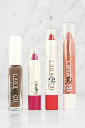 LAQA & Co. Box of Awesomeness Lip and Nail Gift Box at Lulus.com!