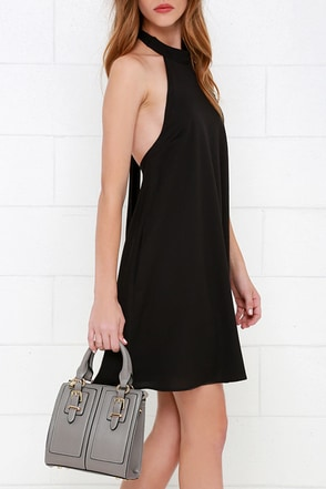 Quarter to Noon Grey Mini Handbag at Lulus.com!
